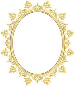 اطارات للتصميم سكرابز اطارات ذهبية