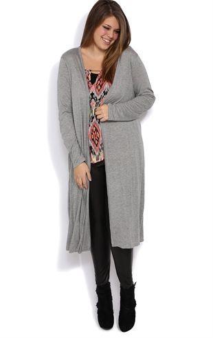 plus size long sleeve duster cardigan | clothes | pinterest