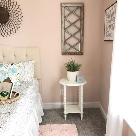 Girls Vintage Bedroom Reveal Paint: Ella Rose (Magnolia) | Home-Big ...