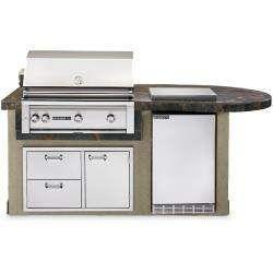 Outdoor Kitchen Planning Design Service Free 3d Sketch Bbqguys In 2020 Outdoor Refrigerator Outdoor Kitchen Island Outdoor Kitchen Kits
