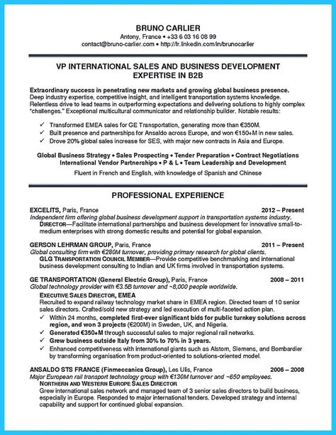 When you make the business development resume, consider youu0027re not - automobile sales resume