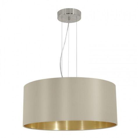 Stoffleuchten rund für den Nachttisch moderne Wohnzimmerlampen Nachtischlampen