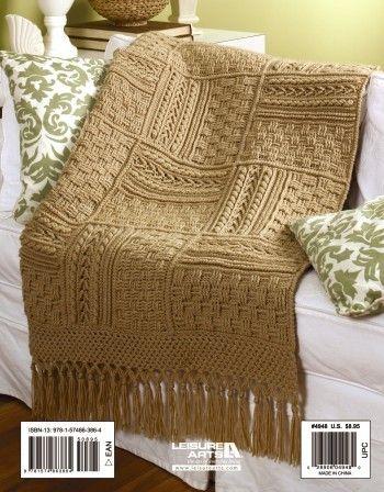 Leisure Arts - Aran Afghans to Crochet eBook, $7.99 (http://www.leisurearts.com/products/aran-afghans-to-crochet-ebook.html)