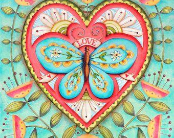 Trust God 8x8 OR 10X10 Art Print Scripture by karladornacher