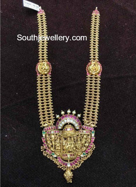 1575038dd0f85 Pin by KR JEWELLERY WORKS on Haram in 2019 | Gold necklace, Gold ...