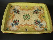 Daher Decorated Ware Tray Made In England Simple Vintage Floral Daher Decorated Ware Tin Tray Made In England 2018