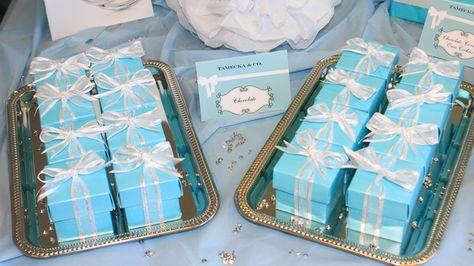 Tiffany Party Favors #tiffany #partyfavors