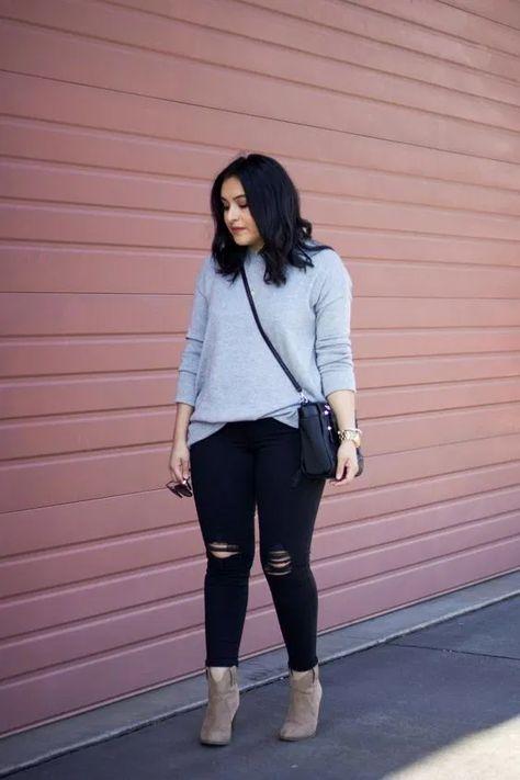 41 Stylish Plus Size Outfits Ideas for Autumn - Fashion Creed