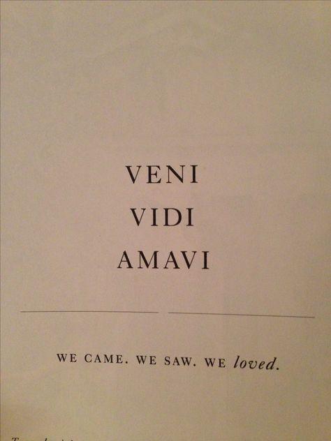 we came. we saw. we loved. #missionaccomplished