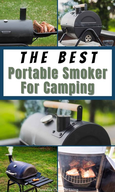 To get the best portable smoker for camping, you need to know the best models available on the market. This is what this guide is all about, we're here to help you choose the best portable smoker for camping on the market.