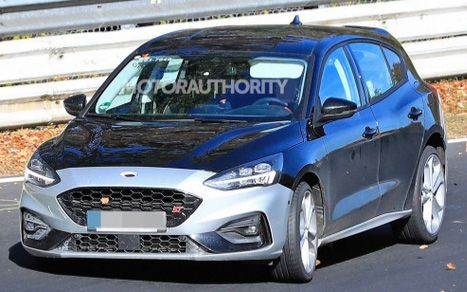 2019 Ford Focus St Spy Shots And Video Ford Focus St Ford Focus 2019 Ford