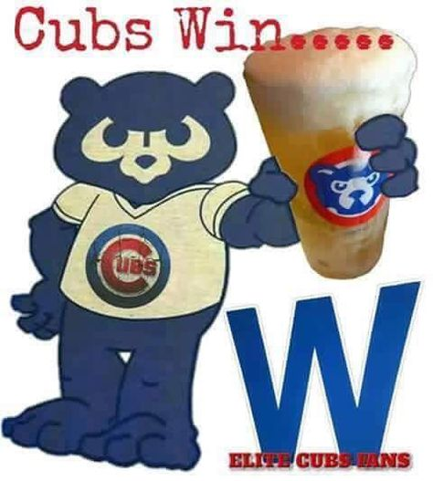 Cubs Win Cheers