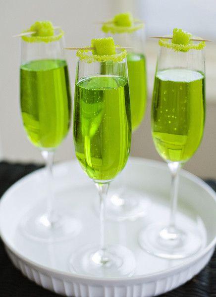 Sparkling Shamrock - St. Patrick's Day Cocktails - Photos