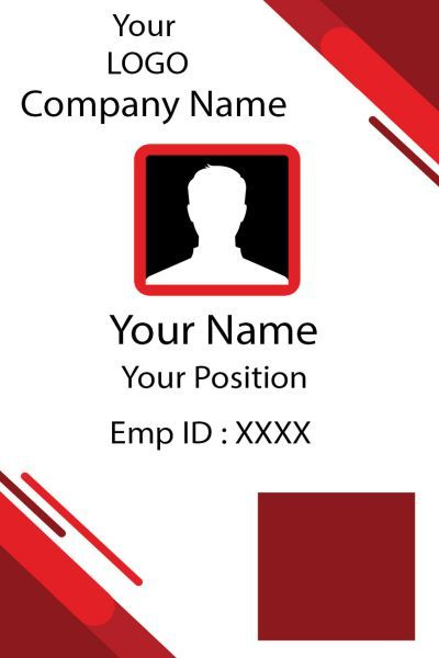Id Card Thirteen Front Id Card Template Identity Card Design Card Templates