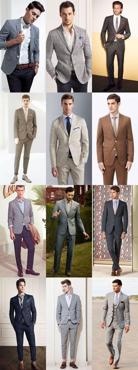 Men's Summer Wedding Guest Outfits