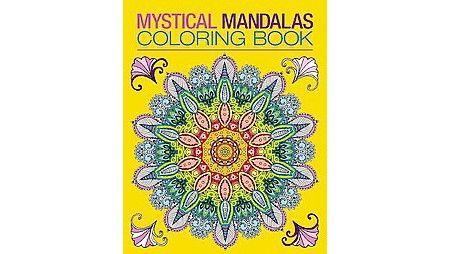Mystical Mandalas Coloring Book Target Coloring Books Mandala Coloring Books Mandala Coloring