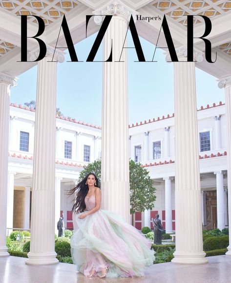 Demi Moore, 56, Stuns in Naked Cover Shoot for Harpers Bazaar