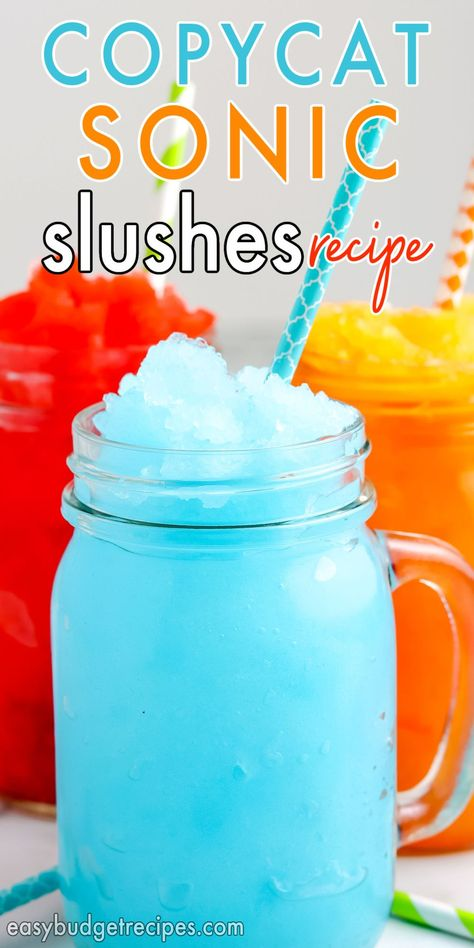 How To Make Sonic Slushes Recipe