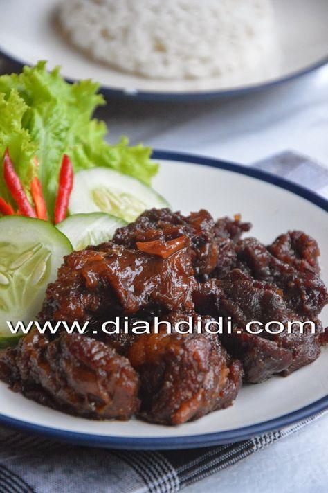 Daging Goreng Bumbu Bacem Resep Masakan Resep Daging Sapi Makan Malam