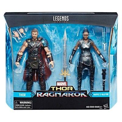 "Marvel Legends Target Exclusive Thor Ragnarok Movie 2 Pack VALKYRIE 6/"" Figure"