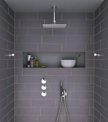 Att bygga en hyllnisch i en dusch är ett perfekt sätt att få ...
