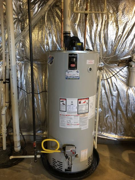 We Installed A Hotwater Heater For A Customer Who Woke Up To No