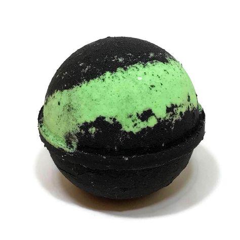 bathbomb I love the neon green color....