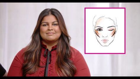 How to Slim Your Face by Contouring | Avon face contouring makeup tutorial- Kelsey Deenihan, Avon's celebrity makeup artist, teaches us how to slim your face using NEW Avon True Color Contour Sticks. Contouring round face tutorial look thinner. Avon
