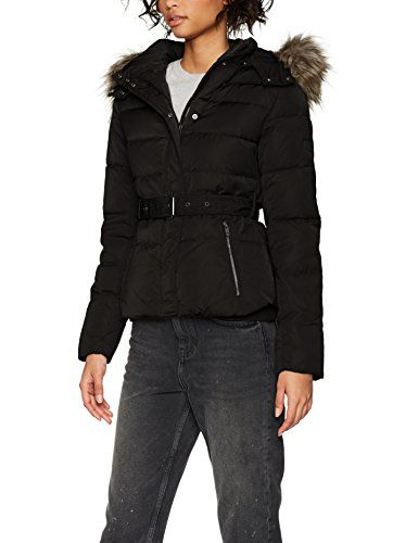 best loved 04d13 3f32b Pepe Jeans Claris PL401256 Impermeable Donna Nero (Black 999 ...
