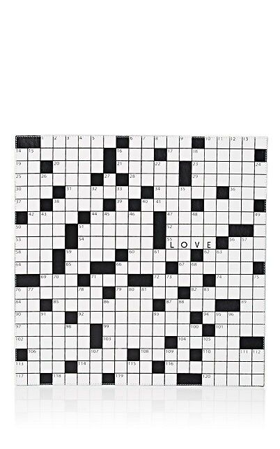 We Adore The Reversible Crossword Vinyl Square Placemat From Lisa Perry At Barneys New York Vinyl Placemats Crossword