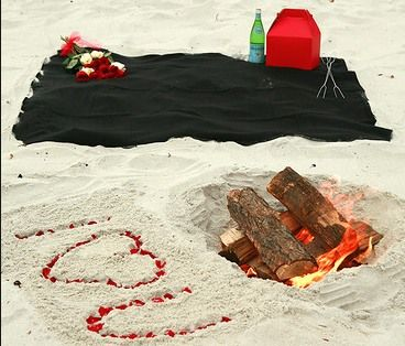 what to do on a beach date