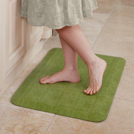 Newlife By Gelpro Anti Fatigue Comfort Mat 20x32 Pebble Palm Walmart Com Kitchen Mat Mats Kitchen Mats Floor
