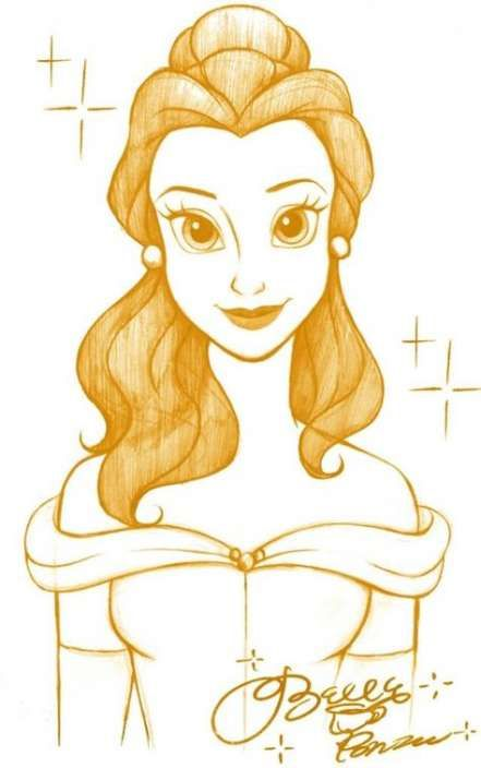 16 Trendy Ideas For Painting Disney Beauty And The Beast Belle #beauty #painting