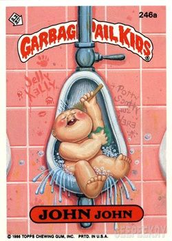 Garbage Pail Kids Toilet Geepeekay Garbage Pail Kids Garbage Pail Kids Cards Garbage