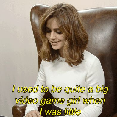 """Jenna Coleman Took Our """"Which Doctor Who Companion Are You"""" Quiz!"""