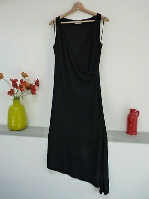 Gorgeous Wallis Black Calf Length V Wrap Sleeveless Party Dress Size 10 12 Vgc Fashion Clothing Shoes Accessor Dresses Party Dress Cocktail Evening Dresses