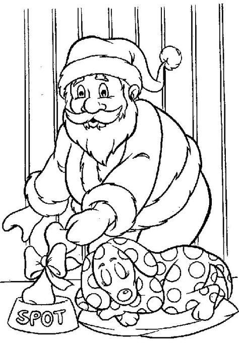 Kleurplaten De Kerstman.Kleurplaat Kerstmis De Kerstman Kerstmis De Kerstman