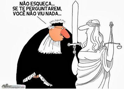 Injustiça Brasileira: Charges sobre a Justiça Brasileira   Imagens de  humor, Juiz, Controle de constitucionalidade