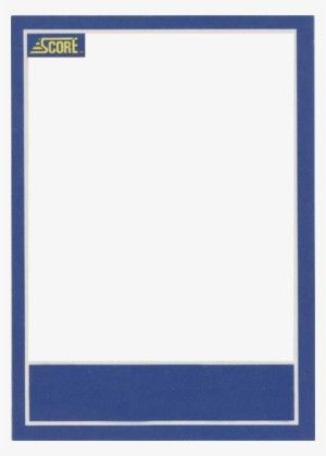 Blank Trading Card Template Trading Card Template Baseball Card Template Card Template