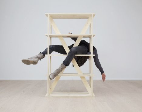 Temporary Furniture con.temporary furniture: simple screwless flatpack | contemporary
