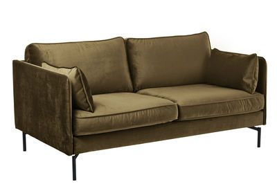 Pols Potten Ppno 2 2 Seater Sofa Brown Green Made In Design Uk 2 Seater Sofa Seater Sofa Brown Sofa