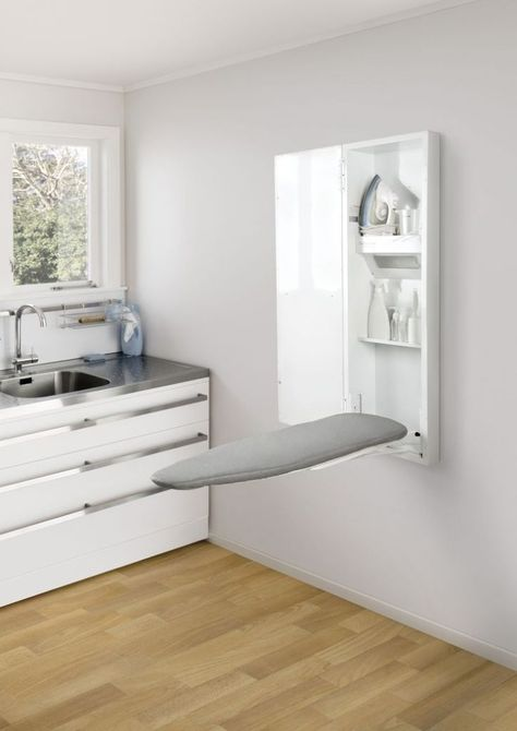 Solutions for Cramped Laundries: Laundry Design & Storage