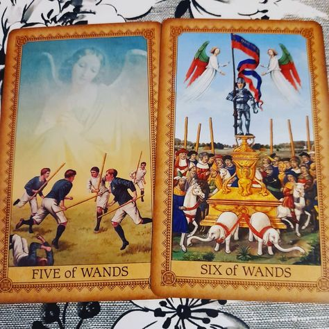Hi everyone! I know I've been M.I.A. for a little while but I'm back and all better. I pulled a couple of cards asking what the energy is around us what we are dealing with and we have the energy of vercoming obstacles. Very fitting isn't it? ) Celebrate success because it didn't come easily. And for those still dealing with challenges keep going because your victory is just within reach. #Deck used: The influence of the angels Tarot More like this on my YouTube channel Pinterest Patreon and Fa