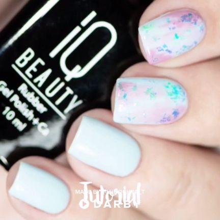 Trendy Gel Polish Design - Full Tutorial on Website #darbysmart #beauty #beautytips #beautyhacks #beautytricks #beautytutorial #nailpolish #nailart #naildiy #naildesign #nailtutorial  #gelnails #gelpolish