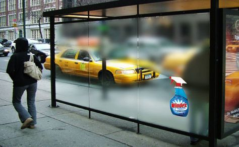 Clever Ad :: Windex