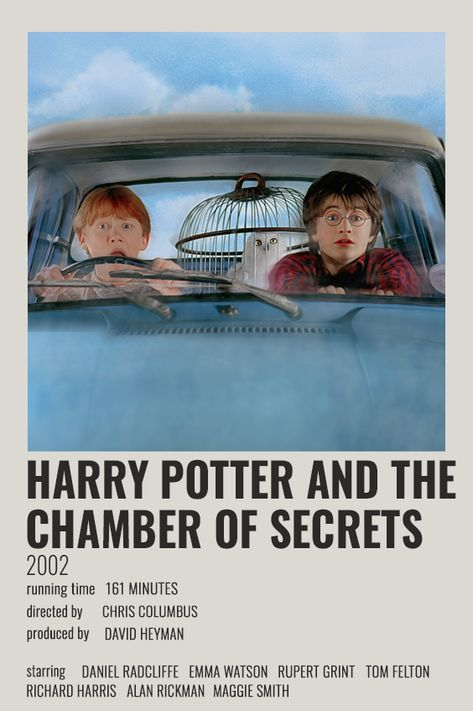 HARRY POTTER AND THE CHAMBER OF SECRETS POLAROID POSTER