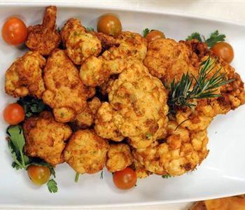 طريقة عمل القرنبيط المقلي للشيف علاء الشربيني والمكون السحري لكي لا يتشرب الزيت Food Cauliflower Vegetables