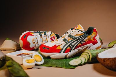 Effortlesslyfly Com Online Footwear Platform For The Culture Asics Malaysia Gel Kayano 5 Og Nasi Lemak Nasi Lemak Asics Trending Sneakers