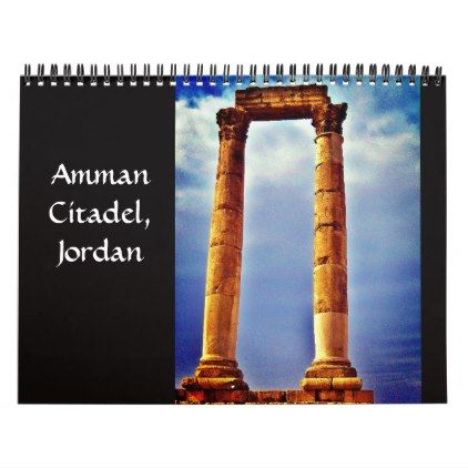 Amman Citadel Jordan Calendar Zazzle Com Calendars In