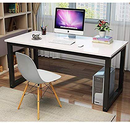 Amazon Com 47 Rectangular Table Modern Simple Style Dining Table Office Desk Computer Desk Modern Computer Desk Home Office Furniture Cheap Office Furniture